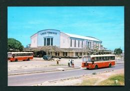 NIGERIA  -  Lagos  Iddo Railway Terminus  Unused Postcard - Nigeria