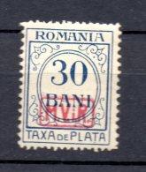 RUMANIA .  AÑO 1918.  PORTOMARKEN Mi 4 (MH) - Occupation 1914-18