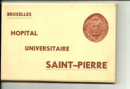 Bruxelles « Hopital Universitaire Saint-Pierre » Pochette De 20 CP - L'édition Belge - Gezondheid, Ziekenhuizen