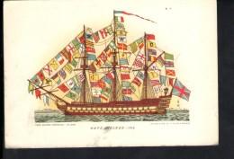 Q340 NAVE INGLESE 1794 - SERIE 3, STORIA DELLE NAVI - ED. CASA MAMMA DOMENICA, MILANO - NAVI SHIP BATEAU - Barche