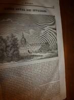 1833 LM :Hôtel Royal Des Invalides;Les Aérostats (ballons);St-Vincent-de-Paul; Orang-Outang;Le Meurtre De Mary Ashford - Vieux Papiers