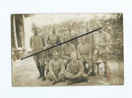Carte Photo à Identifier : Correspondance Au Verso :  Moussoulens   - Militaires , Soldats- - Autres Communes
