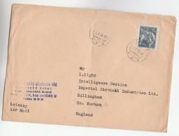 1956 CZECHOSLOVAKIA Stamps COVER To GB - Czechoslovakia