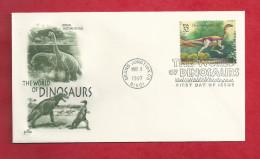 Lettre Des USA De 1997 - FDC - YT N° 2603 - Ornithomimus - Briefmarken