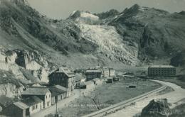 CH GLETSCH / Gletsch Mit Rhonegletscher / - VS Valais