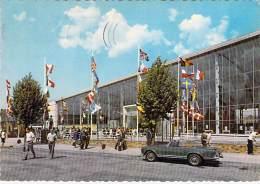 BELGIQUE - NAMUR : Palais Des Expositions ( Jolie Automobile MERCEDES CABRIOLET ) CPSM GF 1968 - Belgium Belgien België - Namur
