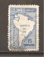 Colombia - Yvert  399 (usado) (o) - Colombia