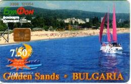 Bulgarie : Golden Sands (la Plage Où Se Trouve De Casinos) - Bulgaria