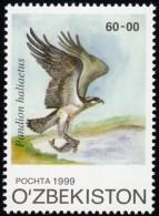 UZBEKISTAN - Scott #195 Pandion Haliaetus / Mint NH Stamp - Uzbekistan