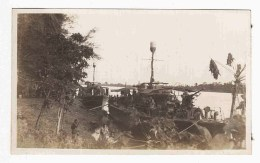 Motor Launches, HDMLs, Fairmiles, Navy Boats, Marienburg, Sepik River, New Guinea, 1945, WW2, Small Photograph - Boats