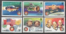 Liberia    Scott No. 715-20   Mnh   Year  1975 - Liberia