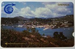 GRENADA - GPT - 1CGRC - $20 - St Georges - Used - Grenada