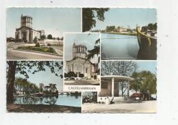 G-I-E , Cp , 82 , CASTELSARRASIN , Multi Vues , Kiosque à Musique , écrite , Ed : Théojac , N° 33-10 - Castelsarrasin