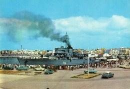 - VINAROZ. Vista Parcial Puerto - Bateau De Guerre - Voitures: AMI 6 Et CITROEN DS. - - Sailing Vessels
