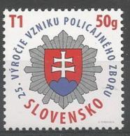 SK 2016-778 POLICE, SLOVAKIA, 1 X 1v, MNH - Polizei - Gendarmerie