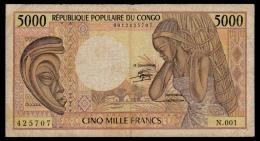 Congo 5000 Francs 1984 P.6a VG+ - Congo
