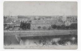 (RECTO / VERSO) LAVAL EN 1926 - N° 109 - VUE GENERALE DE LA RIVE GAUCHE - CPA - Laval