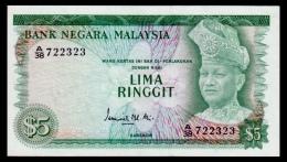 Malaysia 5 Ringgit 1967-1972 P.2a XF - Malaysia