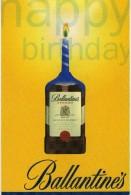 Advertising Ballantines Whiskey Drinks - Publicité