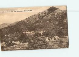 Vue Prise En Descendant De BOCOGNANO - 2 Scans - Frankrijk