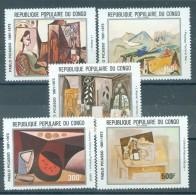 CONGO (BRAZZAVILLE) - S.G. Nr 816/820  - Picasso - Cote 15,80 GBP - Congo - Brazzaville