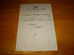 Agriculture Ardèche:son & Avoine,grains,farine,recoupe Minoterie à Cylindres Louis Nicolas Fils à Saint Laurent Du Pape - Agriculture
