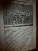 1833 LM :Le Palais De Justice;Le Hareng; Vue ALGER;Le Maïs;La Grotte Du Chien Et La Grotte De Caprée;Jardins Suspendus - Vieux Papiers