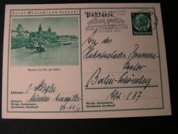 ==  DR Bildkarte Stettin , SST München Siedlungsausstellung -.1934 - Deutschland