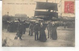 153. Granville, Depart Pour Les Bancs, Les Adieux - Granville