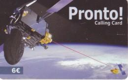 TARJETA DE ESPAÑA DE UN SATELITE (SATELLITE) - Astronomy