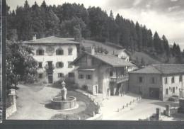 PIEVE DI CADORE CASA DI TIZIANO VECELLIO. PANORAMICA-VIAGGIATA-.1955-FG-I358-M - Belluno