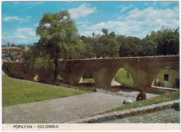 Colombia: Popayan - Puente Del Humilladero (Bridge) - Colombia
