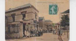 51 - CHIGNY LES ROSES / GRANDE RUE - BUREAU DE TABAC (carte Toilée) - France