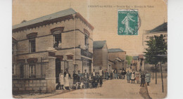 51 - CHIGNY LES ROSES / GRANDE RUE - BUREAU DE TABAC (carte Toilée) - Other Municipalities
