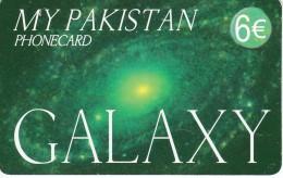 TARJETA DE ESPAÑA DE UNA GALAXIA  (SATELLITE) GALAXY - Astronomy