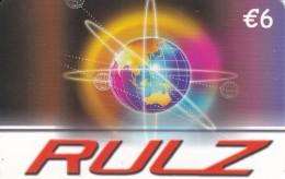 TARJETA DE ESPAÑA DE LA TIERRA (GLOBO TERRAQUEO) RULZ - Astronomy