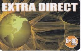 TARJETA DE ESPAÑA DE LA TIERRA (GLOBO TERRAQUEO) EXTRA DIRECT - Astronomy