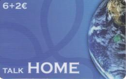 TARJETA DE ESPAÑA DE LA TIERRA (GLOBO TERRAQUEO) TALK HOME - Astronomy