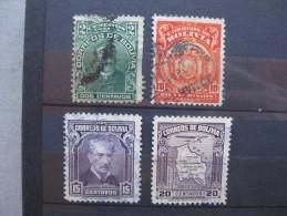 Timbres Bolivie : 1901 - 1935 - Bolivie