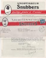 Semeuse N°192 30c Obl 23/3/26 SEUL Sur BELLE LETTRE ILLUSTRÉE - - Amortisseurs SNUBBERS - CONTENU - Covers & Documents