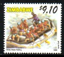 ZIMBABWE. N°414 De 1999. Rafting.
