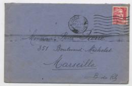 FRANCE : M. DE GANDON 3F ROSE N° Yvert 716 SUR ENVELOPPE DU 27/10/46 DE PARIS - 1945-54 Marianne De Gandon