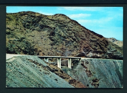 SAUDI ARABIA  -  Taif To Bishar Road  Shomrock Bridge  Used Postcard As Scans - Saudi Arabia