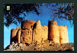 UNITED ARAB EMIRATES  -  Alfujeira Castle  Used Postcard As Scans - United Arab Emirates