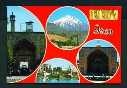 IRAN  -  Teheran  Multi View  Unused Postcard - Iran