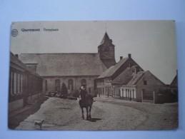 QUAREMONT -- DORPPLAATS ZELDZAME KAART Gelopen 1932 Ed. Albert - Kluisbergen