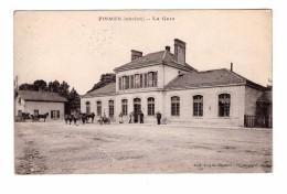 51 Fismes Ancien La Gare Attelage Edit Doyen à Fismes - Fismes