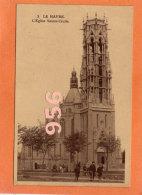CPA * * LE HAVRE * * L'Eglise Sainte-Cécile - Non Classificati