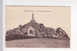 Cpa ROCHES Creuse Notre Dame D'espérance Chapelle Vierge - Nussac - Autres Communes