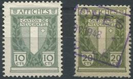1463 - NEUCHÂTEL - Fiskalmarken - Fiscaux